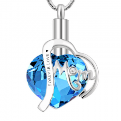 The blue topaz of the heart...