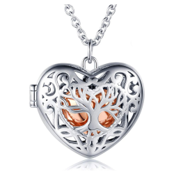 The copper cage heart