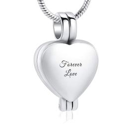 The delicate silver locket...
