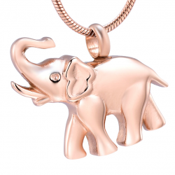 L'éléphant mémorial rosé