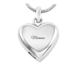 The eternal silver heart