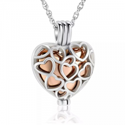 The heart cage of silver love