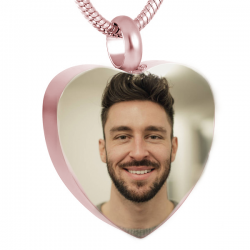 The classic rose gold heart...