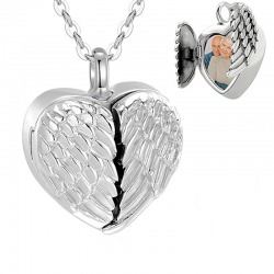 The silver winged heart photo