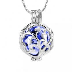 L'arbre du cœur cage bleu