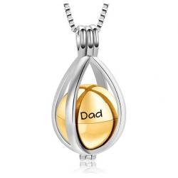 The golden tear drop locket