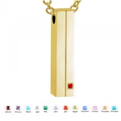 The gold 3D bar
