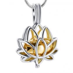 Le lotus de l'âme doré