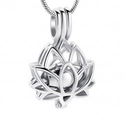 Le lotus de l'âme argenté
